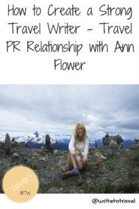 Podcast 06 interviewing PR Ann Flower