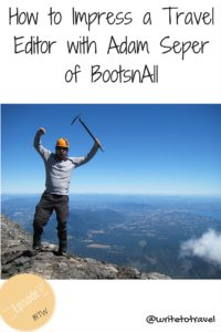 Podcast 07 Interviewing Adam Seper of BootsnAll