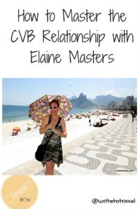 How to master CVB relationship with Elaine Masters