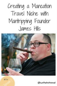 Podcast interviewing James Hills