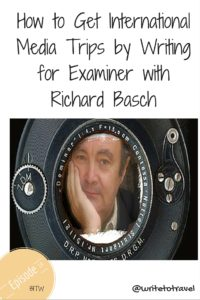 Intrviewing Richard Basch