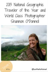 Interview with Traveler of the Year and World Class Photographer Shannon O'Donnell