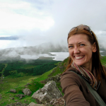 Shannon O'Donnell at Isle of Skye, Scotland