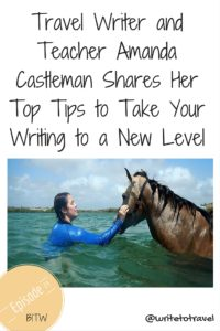 Tips for writing  with Amanda Castleman