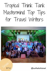 Top Tips for Travel Writers