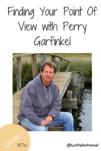 Interviewing Perry Garfinkel