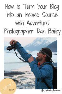 Interviewing photographer Dan Bailey