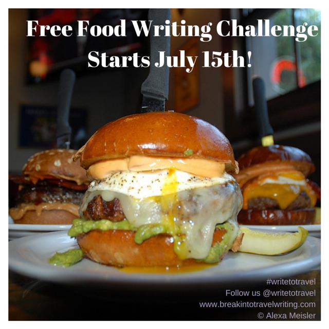 Free-Food-Writing-Challenge