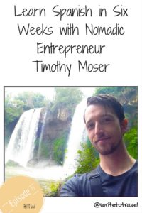 Podcast Interviewing entrepreneur Timothy Moser