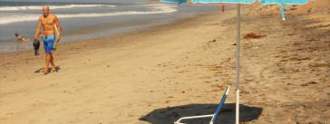 carlsbad beach in California.