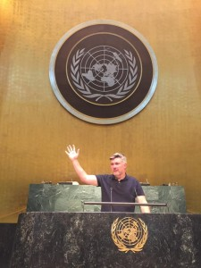 Gary Griffiths Facebook Expert at the U.N.