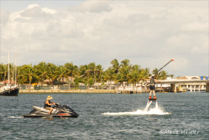 Flyboarding with South Florida Diving Headquarters