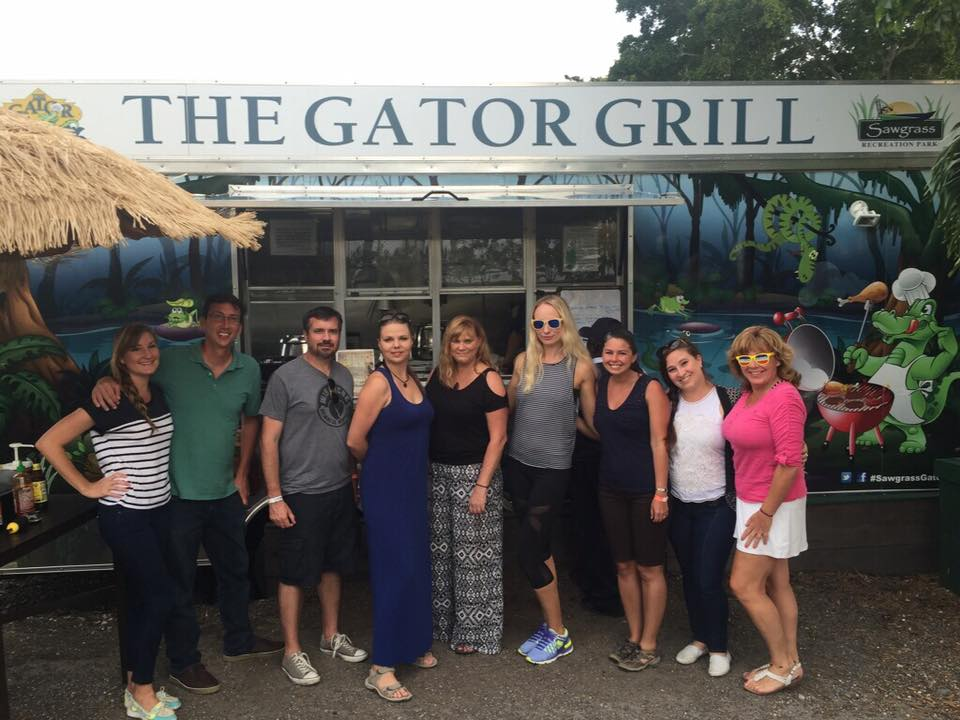 Adventure Seeker FAM Fort Lauderdale Visiting Sawgrass Recreation Park