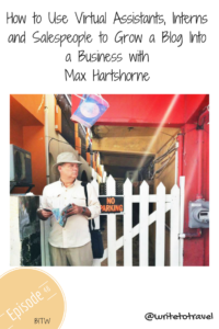 Interview with travel writer Max Hartshorne
