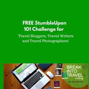 Free stumbleupon challenge for travel bloggers