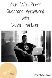 Interview with Dustin Hartzler