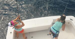 Heather Balogh Rochfort deep sea fishing in loreto, mexico