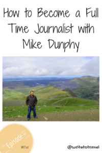 Interview with journalist Mike Dunphy