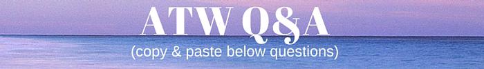 aspiring travel writer q&a