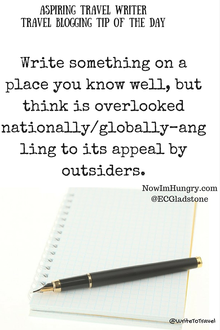 travel writing quote from Eric (E.C.) Gladstone