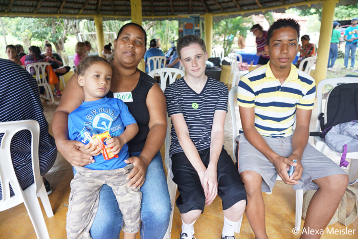 Community English Impact activity on Fathom Cruise to Dominican Republic