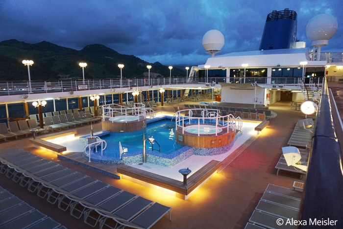 Gorgeous fathom cruise at sunset in dominican reupublic