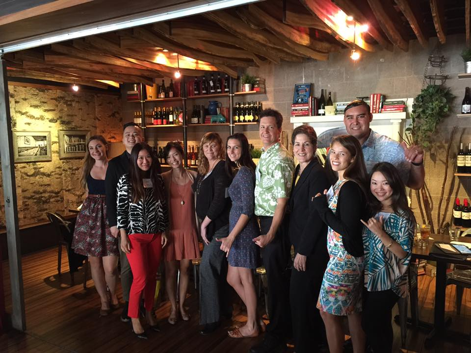 Oahu Tourism Board Lunch in San Diego