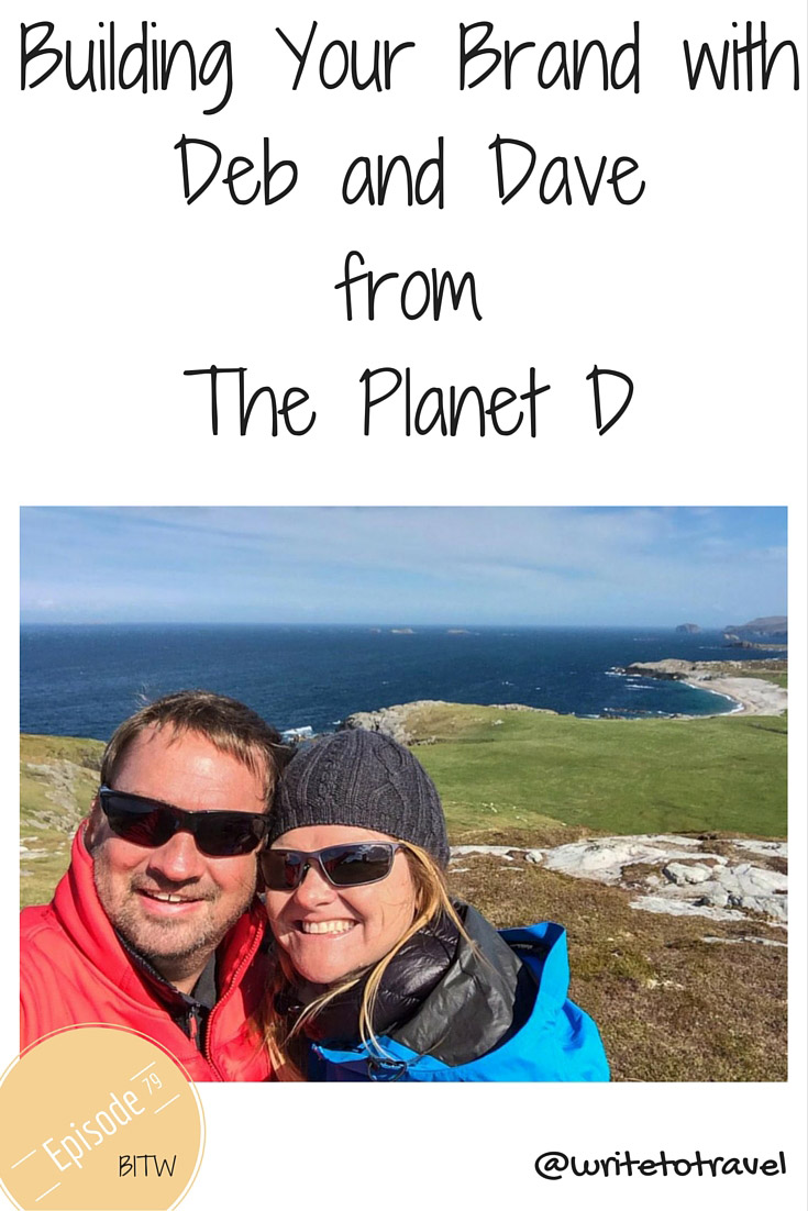 podcast episode with Deb and Dave from the Planet D