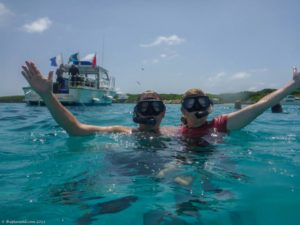 deb and dave from the planet D in the bahamas