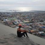 nora hase sanboarding in Peru