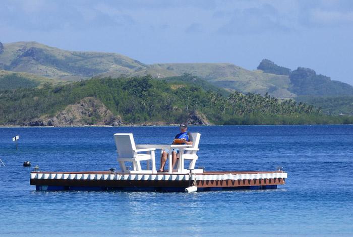 Tim Leffel in Fiji