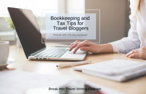 Tax Tips & Bookkeeping for Travel Bloggers
