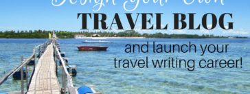 Create A Travel Writer Website in Wordpress
