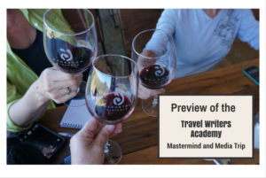 Preview of the Travel Writers Academy Mastermind and Media Trip