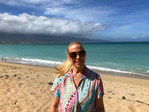 Candy Aluli, Maui travel PR