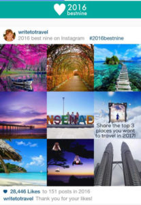Make Your 2016 Best Nine Instagram Photo