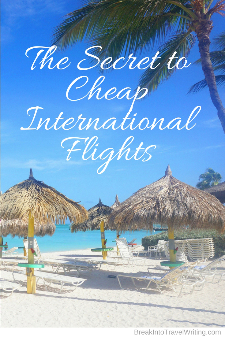 Secret to Cheap Flights