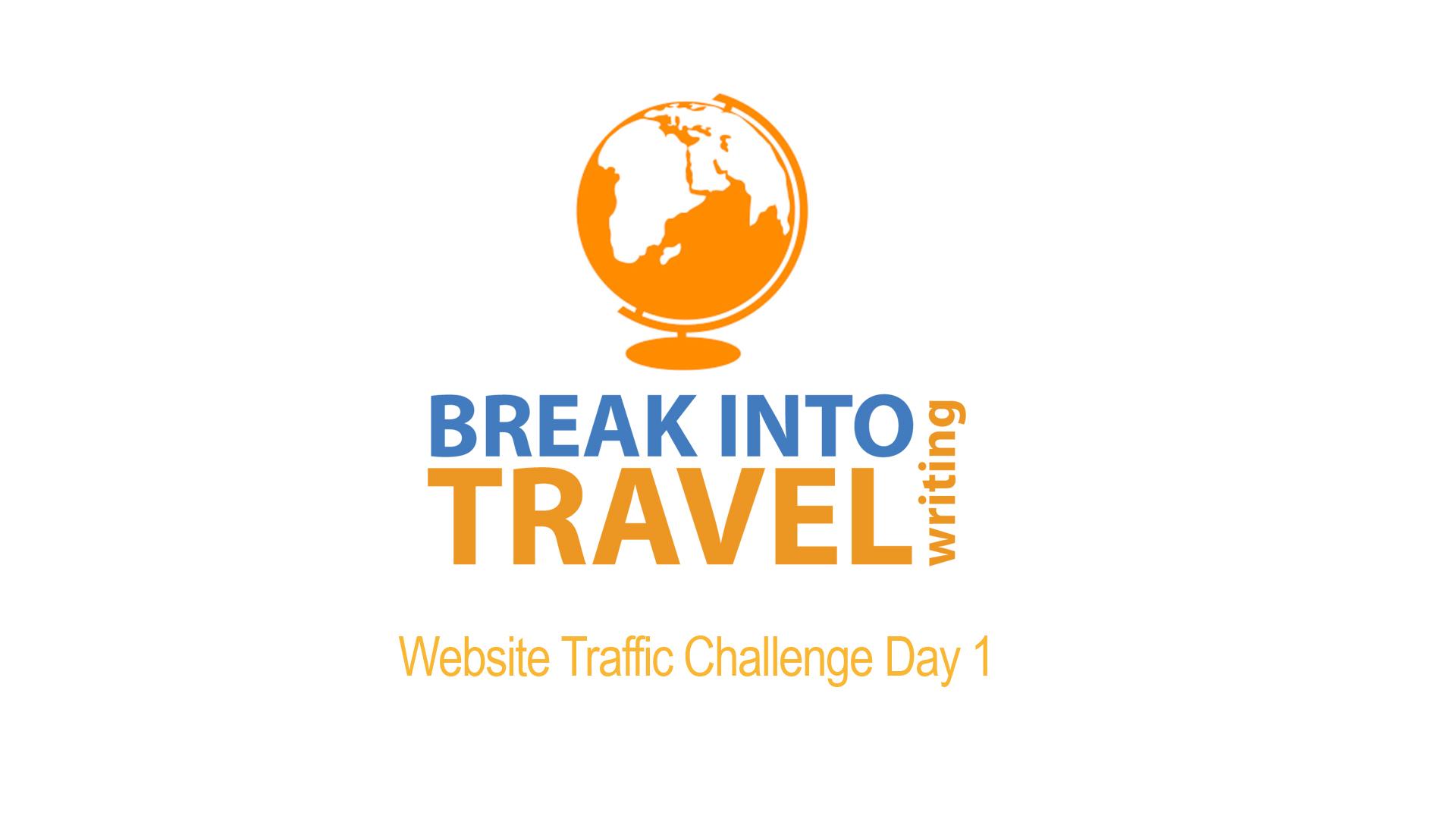 website traffic challenge