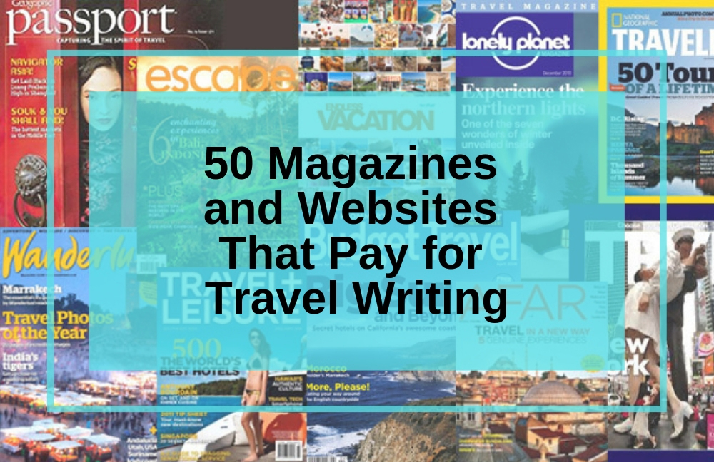 travel magazines that pay