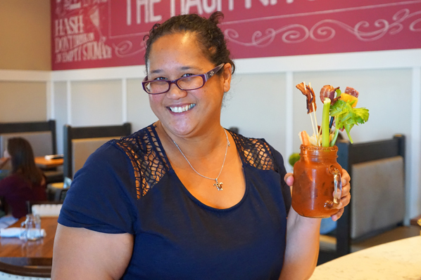 Wendy's Bloody Mary Masterpiece at Hash Kitchen