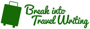Break Into Travel Writing Logo