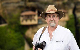 Chris Christensen podcaster and travel writer