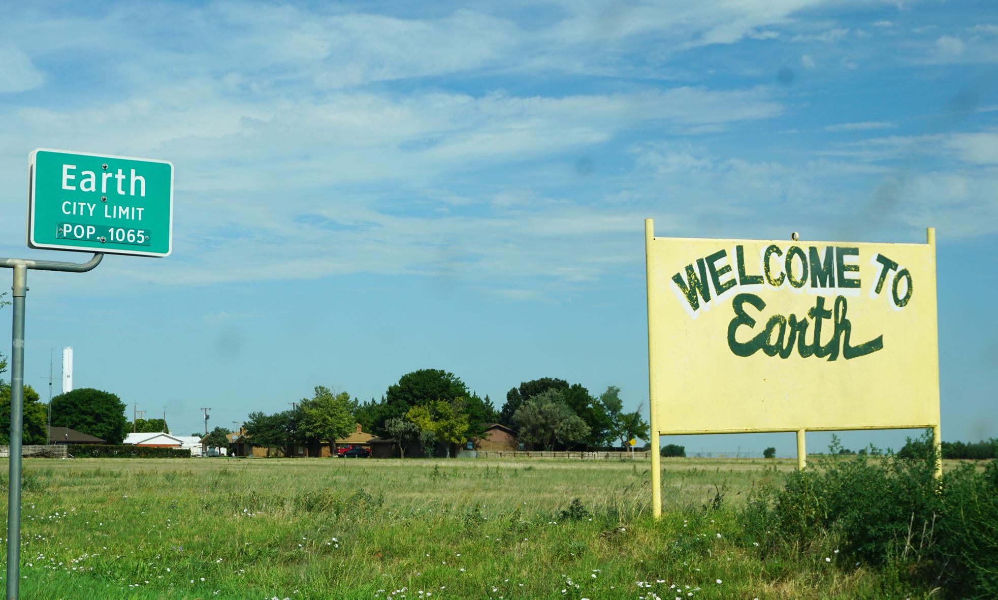 Earth, Texas Summer Road Trip