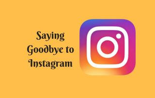 goodbye instagram