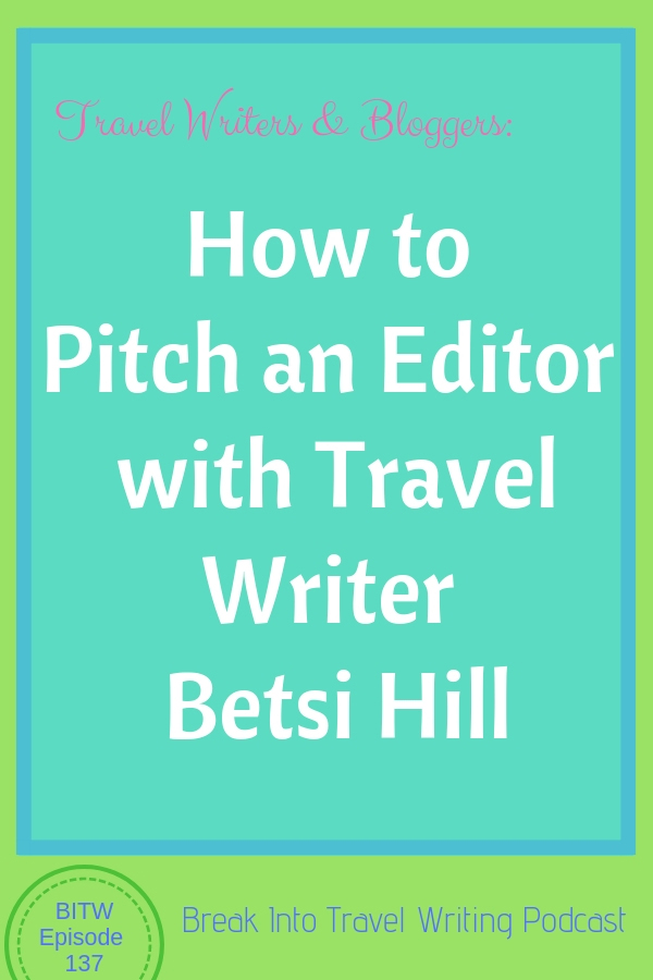 How to Pitch an Editor for travel bloggers and writers #travelblogger #travelwriter #travel