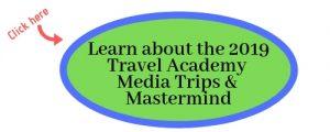 2019 Travel Academy Media Trips