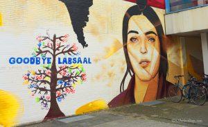 street art in frankfurt, gernany