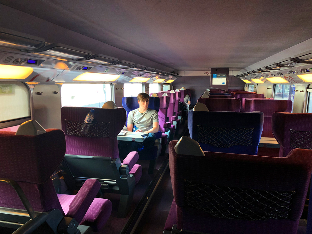 Eurail travel in Europe