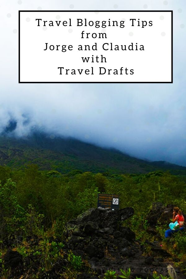 Jorge and Claudia with Travel Drafts