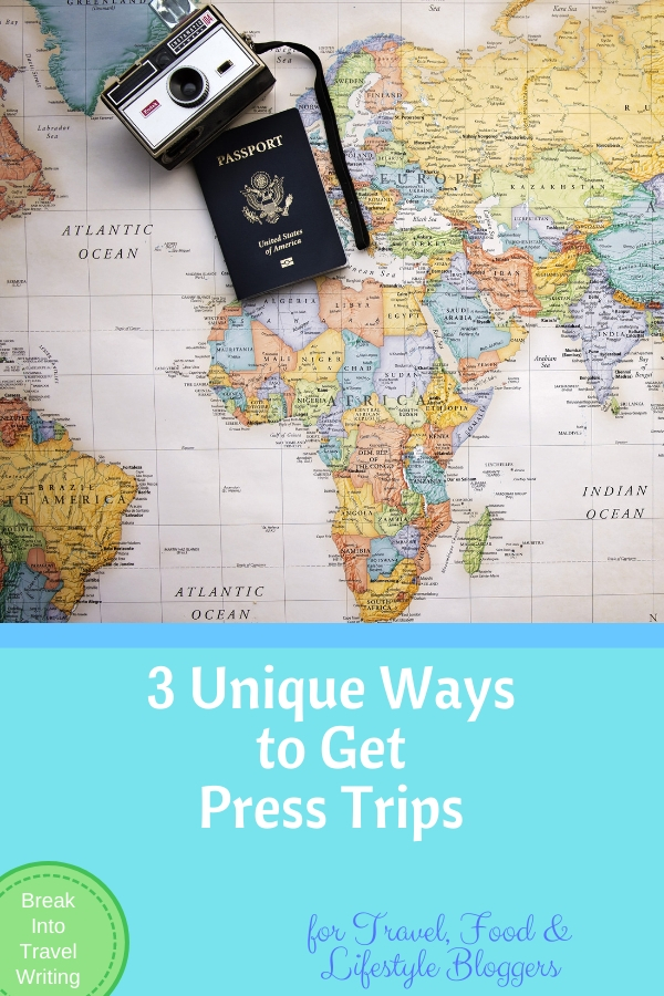 Ways to Get Press Trips